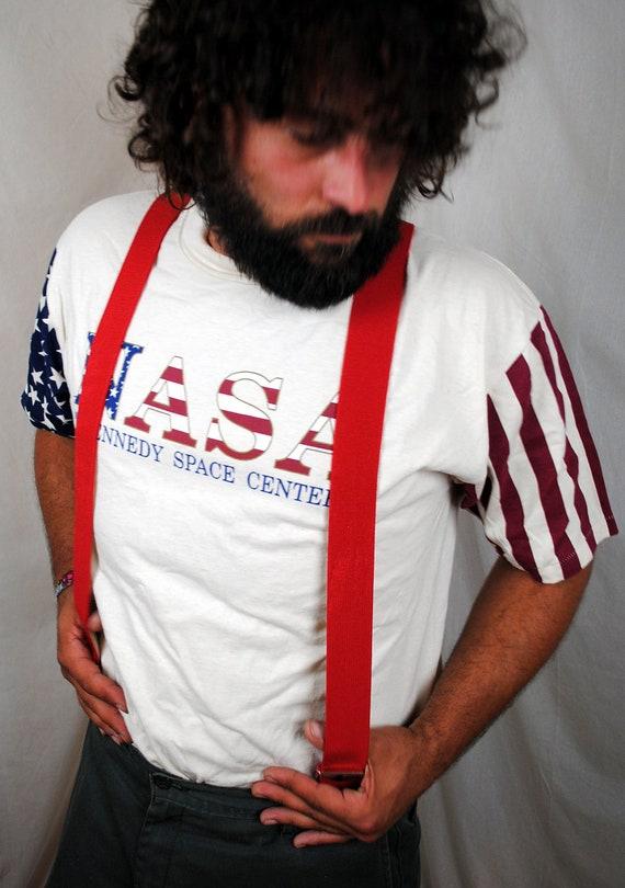 Basic Red Vintage Suspenders
