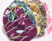 The Couture Mama Medium Size Bib- Set of Three- YOU Choose the Fabric