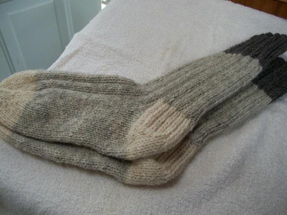 Mens Wool socks size 12/13 003