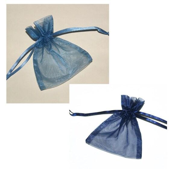 50 Drawstring Organza Bags for Sara