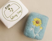 Felted soap, daisy, Pregnant woman could also be assured that using