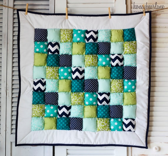 La Mer Puff Quilt READY TO SHIP