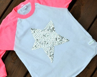 sparkle and shine....sequined star...a toddler tee