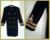 80's Vintage Pilot Blazer Jacket