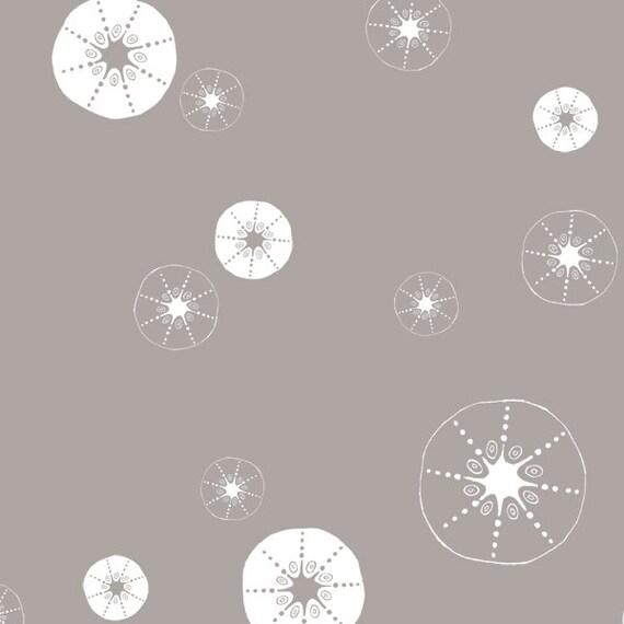 Urchin Shells in Shroom from Storyboek Two by Jay-Cyn Designs for Birch Fabrics-  Half Yard