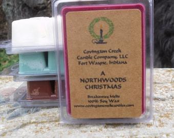 A Northwoods Christmas Breakaway Melt.  Great Stocking stuffer or gift basket.