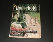 Vintage Household Magazine January 1956  - Fashion - Retro Vintage Ads - Scrapbooking - Paper Ephemera