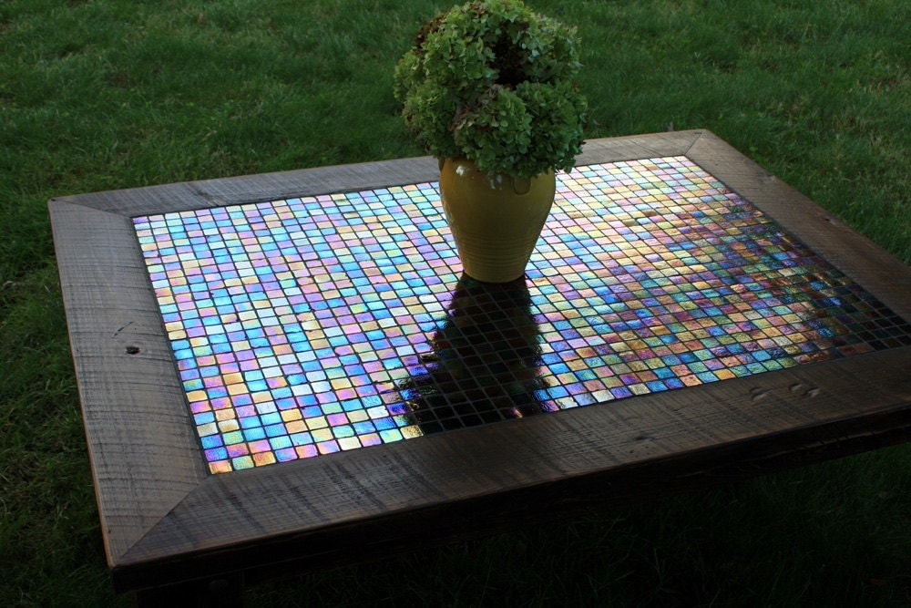 useful diy coffee table mosaic fl