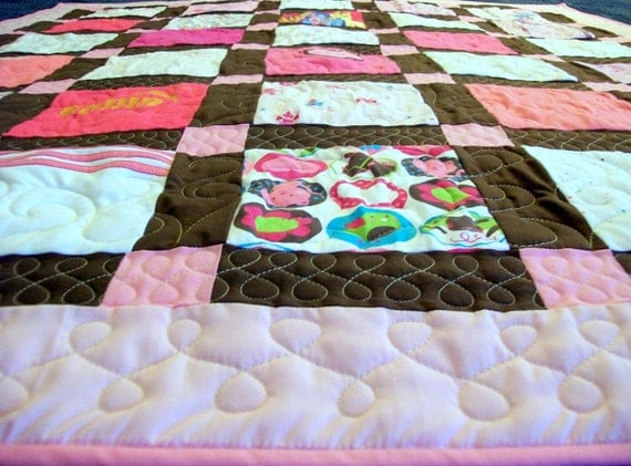 "Reserved for Natalie Ragoo - Custom Baby Quilts Baby Size 42"" x 49"" - (Deposit) Layaway 2nd of 3"