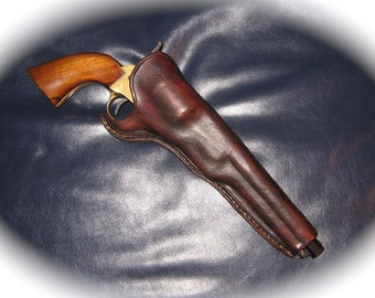 MADE TO ORDER modified 1851 Navy revolver holster - 10/12 week delivery
