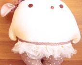 Violette Ballerina Bunny Pillow