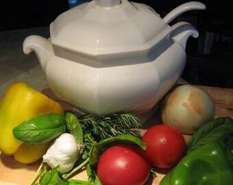 Tomato  Basil  SOUP and POPOVERS  PDF 2 Recipes