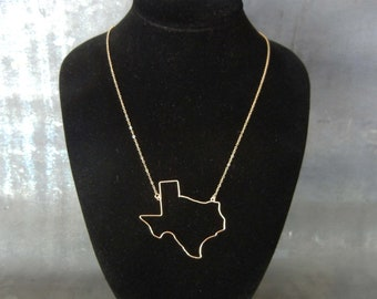 State necklace-TX