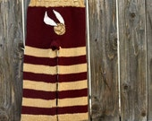 Harry Potter Longies, Knit, Custom Size