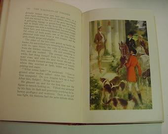 SALE...The Valiants of Virginia Hallie Erminie Rives Antique Book 1912 Castaigne Illustrated Color Plates ADventure Romance