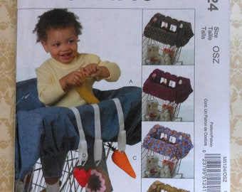 Baby Grocery Cart Liner Sewing Pattern Uncut McCalls M5124 activity toys