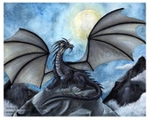 Dark Night Fantasy Art Print