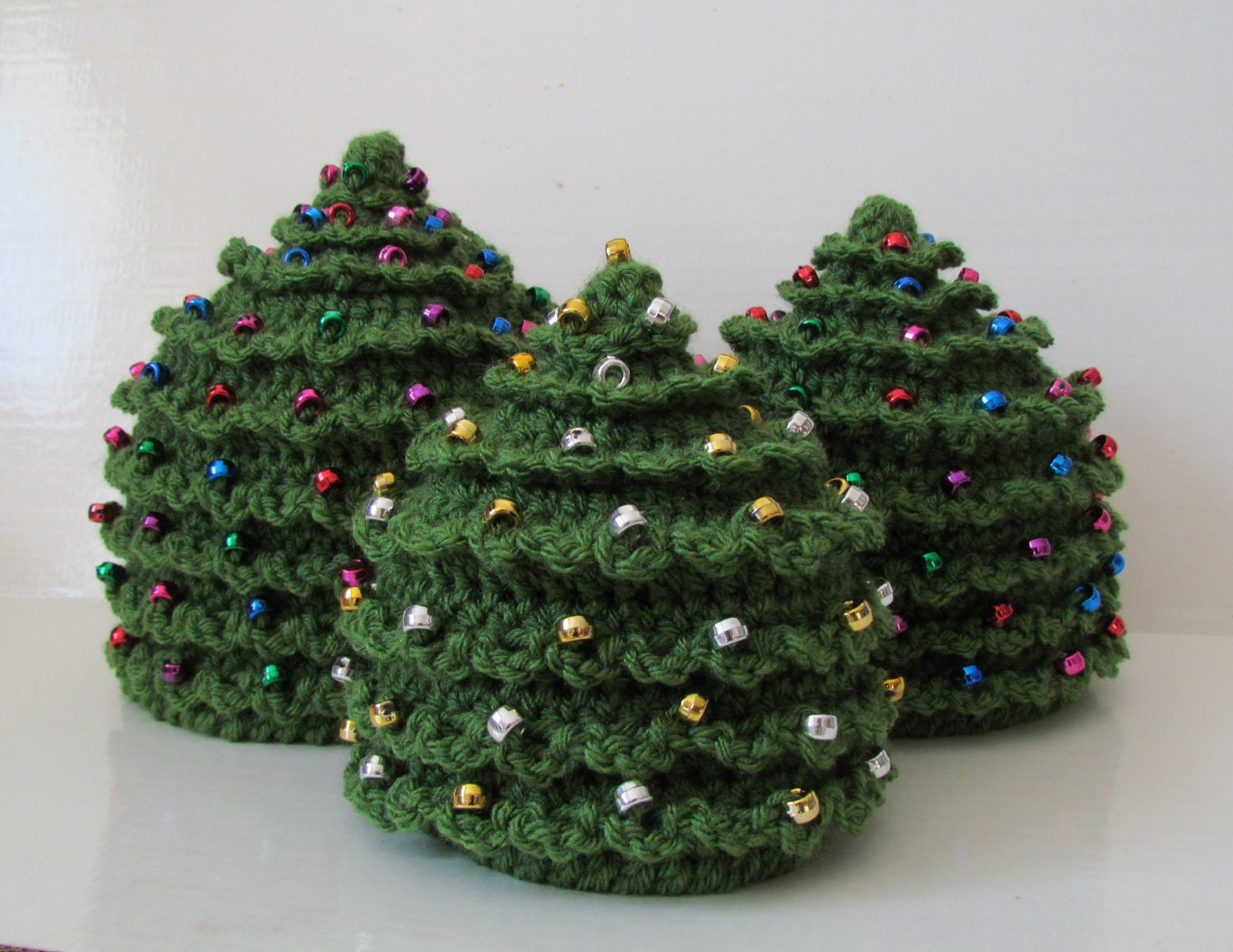 CROCHET Christmas PATTERN HAT Christmas Tree In 5 Sizes 0 To 5