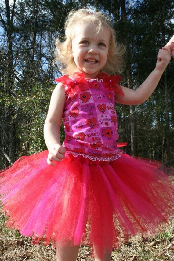 WOW Valentine's heart pageant birthday corset tutu dress 12m 18m 2t 3t 4t 5t 6 you pick