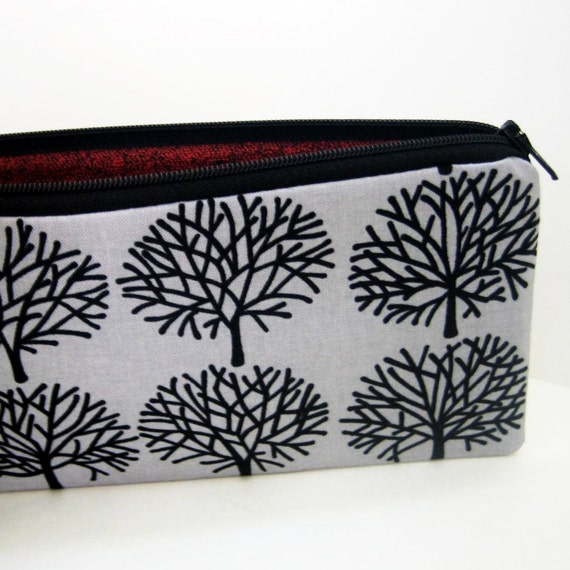 Long Zipper Pouch GHASTLY FOREST Pencil Pouch
