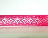 Pink Pearl Hearts Washi Tape (Chugoku) -  gift packaging or card making