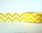 Yellow Chevron Washi Tape Chugoku Pretty Tape Shop