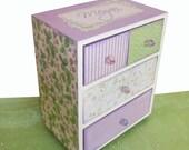 Jewelry Box Personalized English Lavender