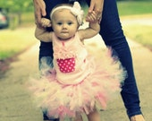Baby Girls Birthday Tutu Dress Outfit, Christmas Toys, Girly Girl Pink 1st Birthday Skirt