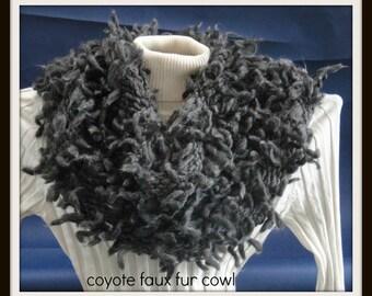 Coyote Faux - Fur Cowl's