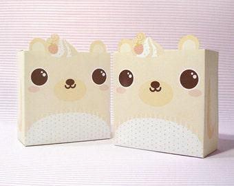 Vanilla Bear Giftbox Printable PDF