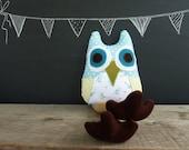 Owl Plushie-Clover