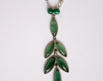 Cascading Leaves Necklace