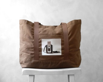 Canvas Bag - The Argoflex Photograph - Large Tote - Weekender