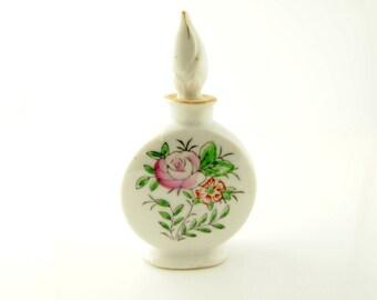 Porcelain Perfume Bottle - Vintage - Japan
