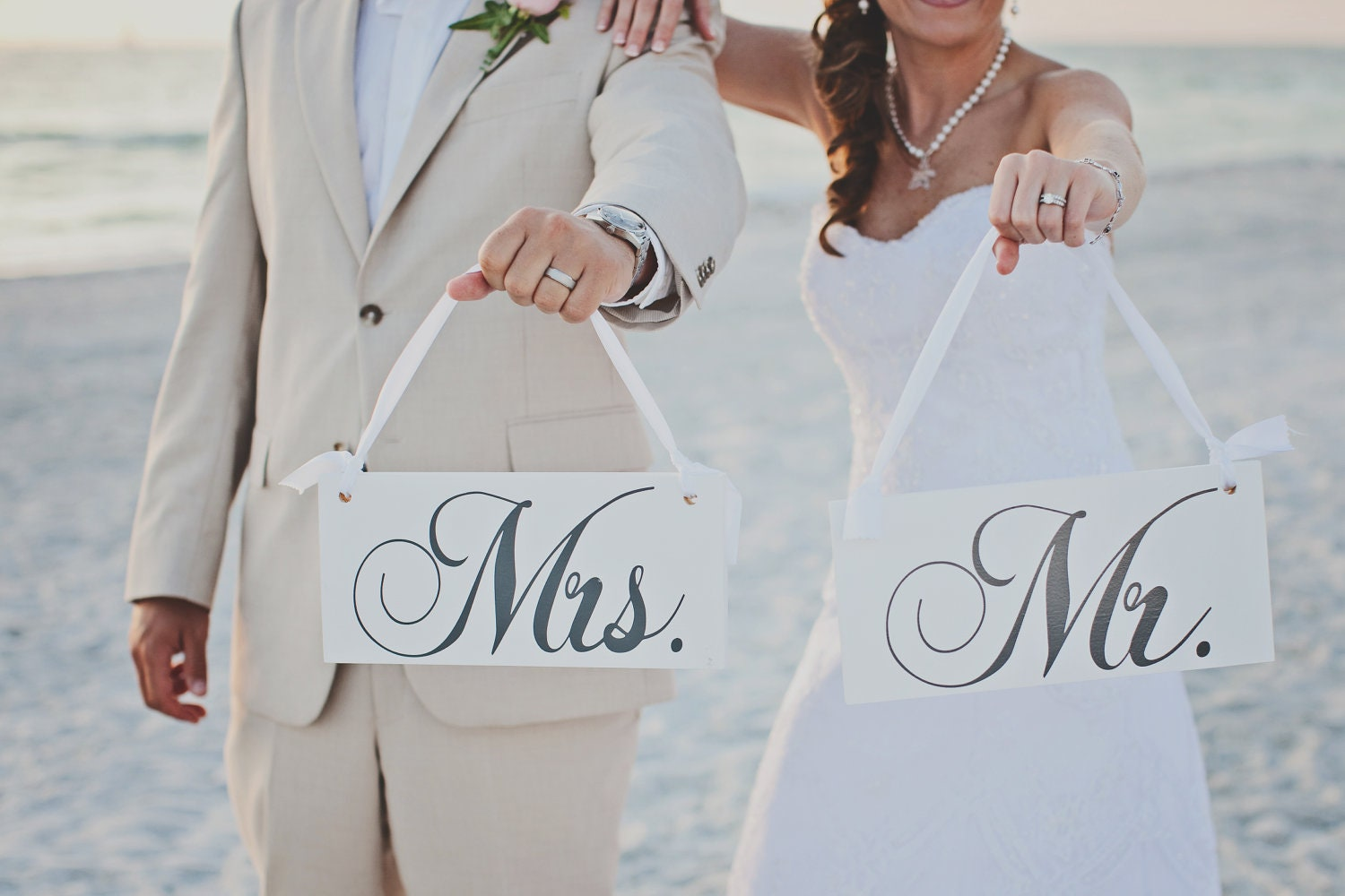 Wedding Signs Mr And Mrs Chair Or Thank