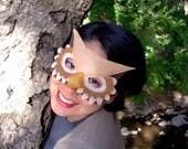 Owl Mask-Brown