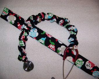 Christmas Owl Stethoscope Cover