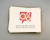 Reserved for ahmissirlian:  20 Aqua Luggage Tag Thank You Cards & Envelopes, Multipurpose Humorous