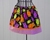 50% OFF CLEARANCE...Owls Girls Twirl Skirt, Ready to Ship Size 5/6