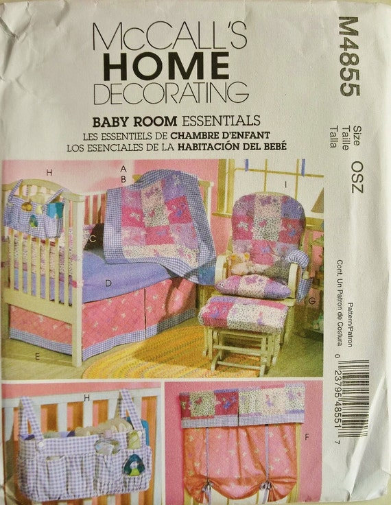 Baby Bedroom Essentials: Baby Room Essentials Chair Cushions & Window Treatment By