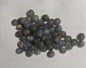 3mm Labradorite Round Beads, 75 beads, Luminescent