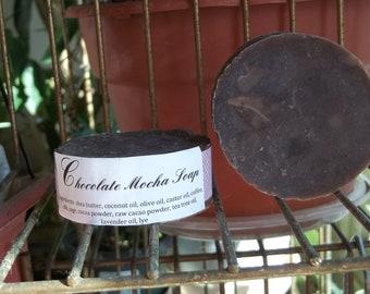 Chocolate Mocha shampoo/soap bar