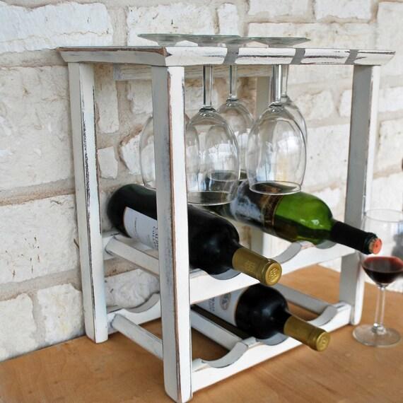 items similar to wine rack countertop wine display farmhouse decor wedding gift on etsy. Black Bedroom Furniture Sets. Home Design Ideas