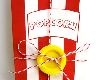 Specialty Vintage Style Pop Corn Boxes