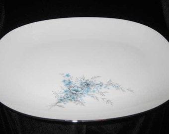 "Noritake Serving Platter Sonnet 15"" Pattern 6656"