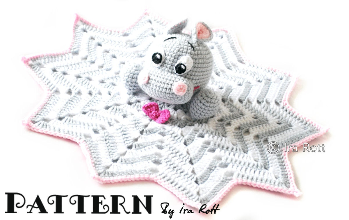 Crochet Hippo Lovey Free Pattern ~ Dancox for .