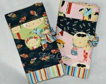 Japanese Dolls Spill Proof Interchangeable or Circular Knitting Needle Organizer