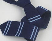 Skinny Men's Club Tie in Navy Blue - on trend spring/summer 2016 - Gift Wrapped
