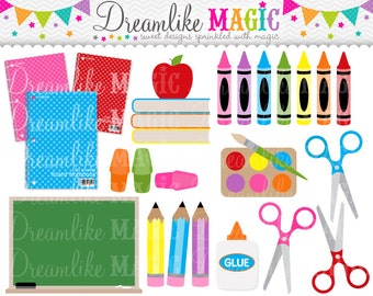 Back to School - Clipart for Personal or Commercial Use
