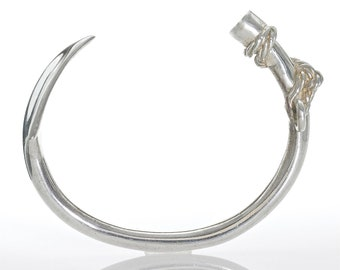 Sterling Silver Harpoon Bracelet